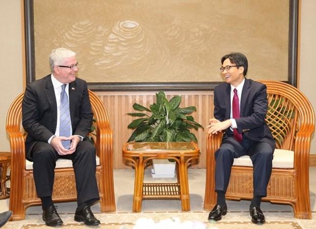 Reconoce Vietnam contribucion de embajador australiano al fortalecimiento de los lazos bilaterales hinh anh 1