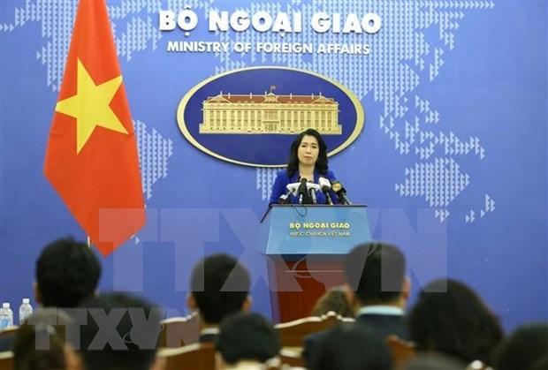 Vietnam exhorta al respeto a soberania de las naciones y ley internacional en Mar del Este hinh anh 1