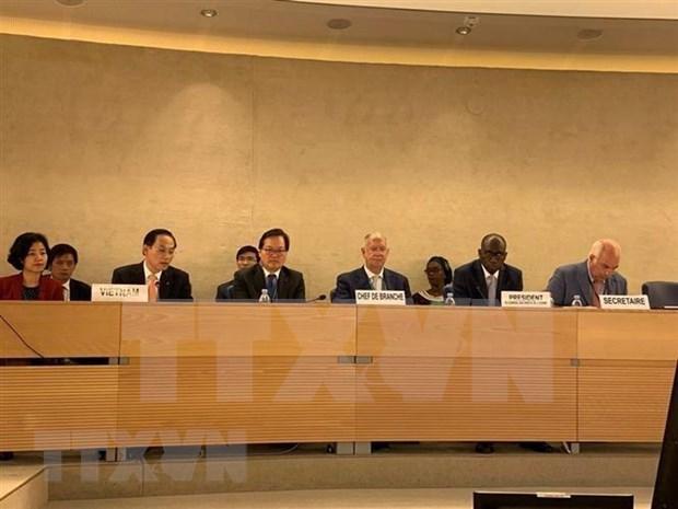 Vietnam acepta casi 83 por ciento de recomendaciones sobre derechos humanos de ONU hinh anh 1