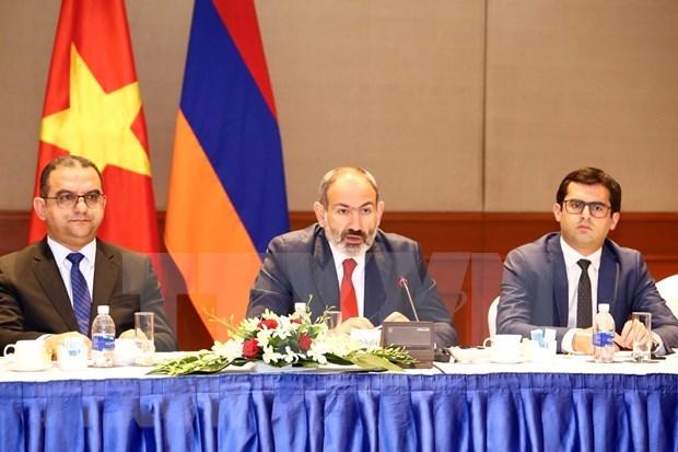 Promueven colaboracion entre Vietnam y Armenia hinh anh 1