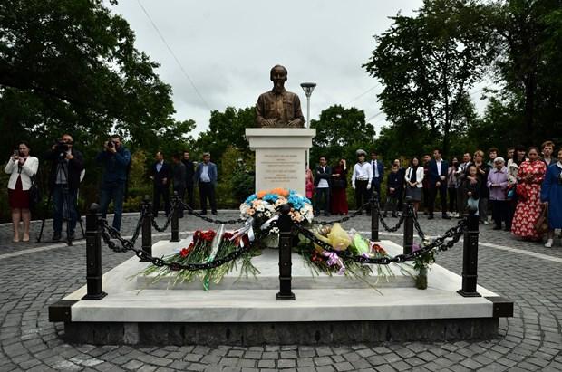Presentan en ciudad rusa monumento del Presidente Ho Chi Minh hinh anh 1