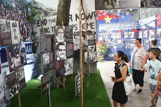 """Exhiben en Hanoi """"Diario de la Paz"""" sobre historia de luchas del pueblo hinh anh 1"""