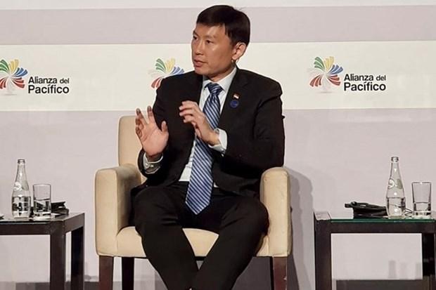 Impulsan Singapur y la Alianza del Pacifico firma del TLC hinh anh 1