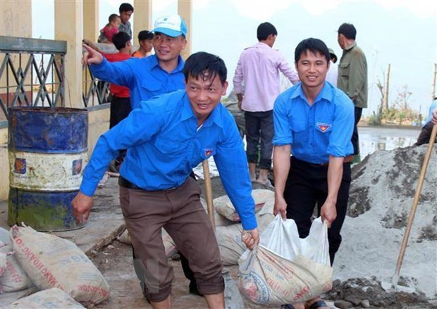 Miles de estudiantes se unen a la campana voluntaria de verano Ciudad Ho Chi Minh hinh anh 1