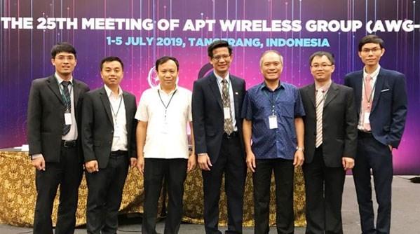 Eligen a vietnamita presidente de Grupo de Comunicaciones Inalambricas de Asia-Pacifico hinh anh 1