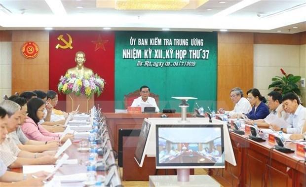 Comision de Control Disciplinario del PCV pide medidas disciplinas contra expremier hinh anh 1