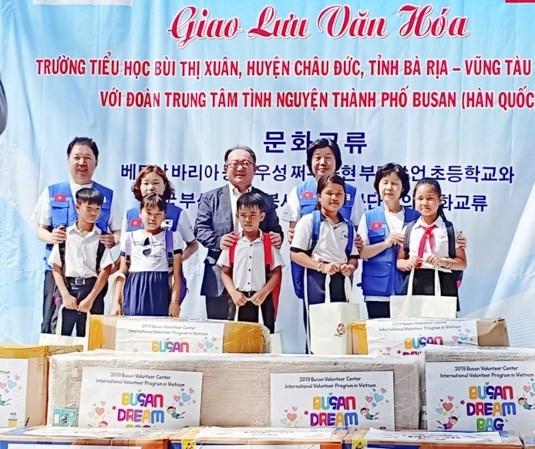 Efectuan intercambio cultural localidades de Vietnam y Corea del Sur hinh anh 1