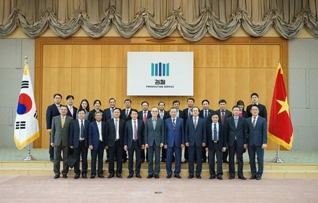 Vietnam y Corea del Sur se comprometen cooperar en combate al crimen hinh anh 1