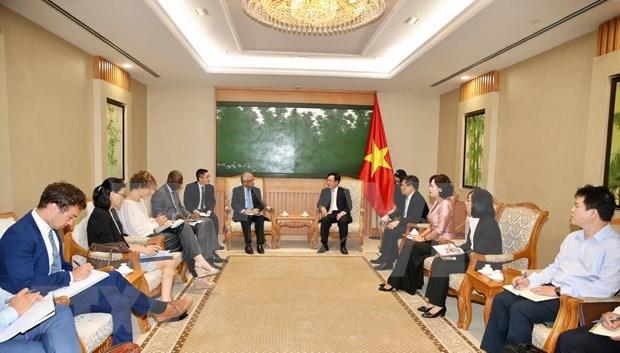 Agradece Vietnam ayuda internacional por su desarrollo hinh anh 1