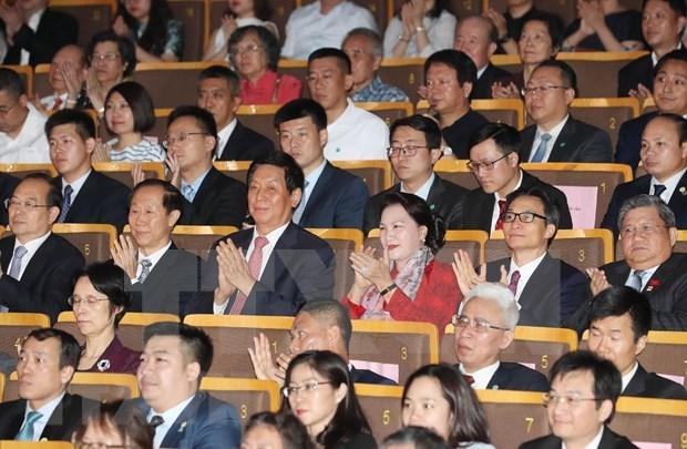Celebran el programa de intercambio artistico Vietnam - China hinh anh 1