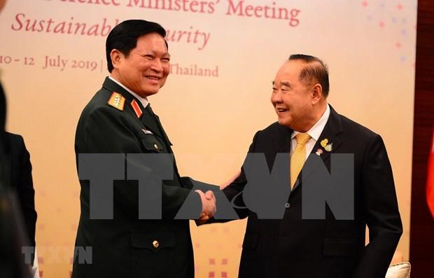 Vietnam elogia el papel de Tailandia en la cooperacion de defensa de la ASEAN hinh anh 1