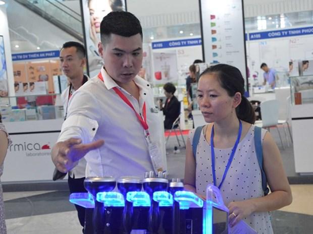 Inauguran en Vietnam Exhibicion Internacional de Productos Farmaceuticos hinh anh 1