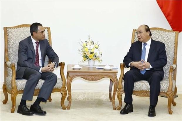 Recibe primer ministro vietnamita al embajador de Malasia hinh anh 1