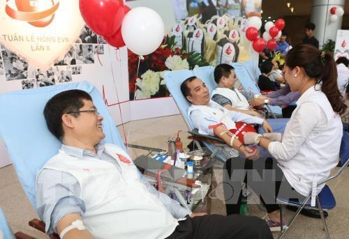 Despliegan en Vietnam programa de donacion voluntaria de sangre 2019 hinh anh 1
