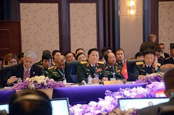 Realizan en Tailandia Conferencia de Ministros de Defensa de la ASEAN hinh anh 1