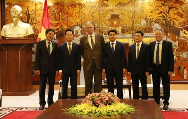 Reafirman interes de Alemania en ampliar cooperacion con Hanoi hinh anh 1