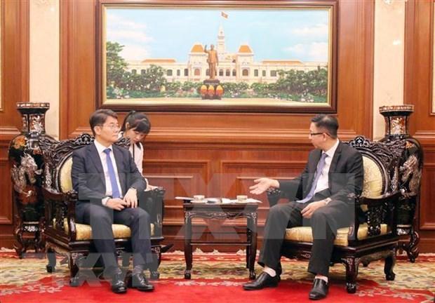 Estimula Ciudad Ho Chi Minh inversiones de Corea del Sur hinh anh 1