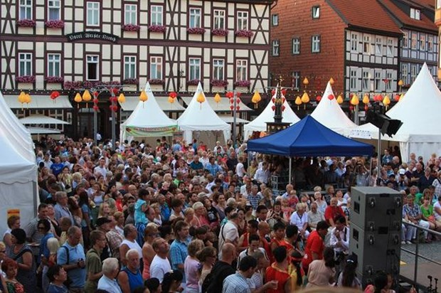 Linternas de Hoi An brillaran en la ciudad alemana de Wernigerode hinh anh 1
