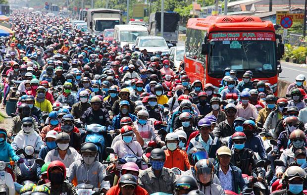 Supera poblacion de Vietnam los 96 millones de habitantes hinh anh 1