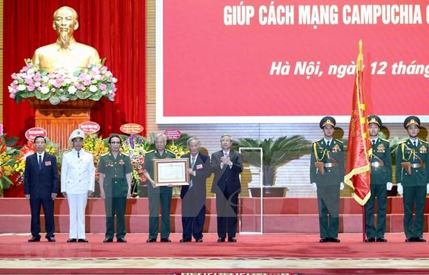 Camboya honra a expertos vietnamitas hinh anh 1