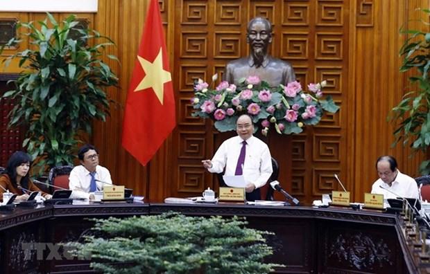 Insta primer ministro de Vietnam a la Television Nacional a contribuir mas al desarrollo del pais hinh anh 1