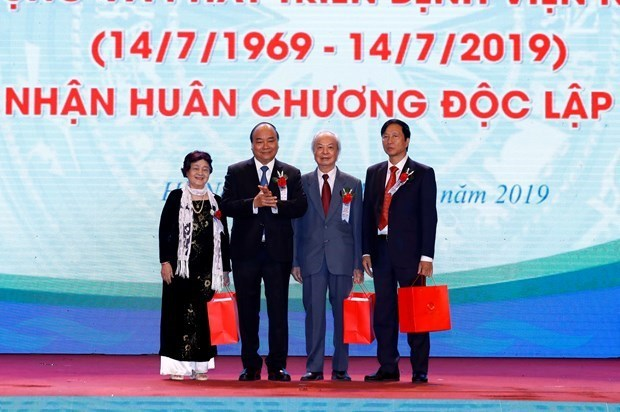 Pediatria Central en Hanoi conmemoran su 50 aniversario hinh anh 1