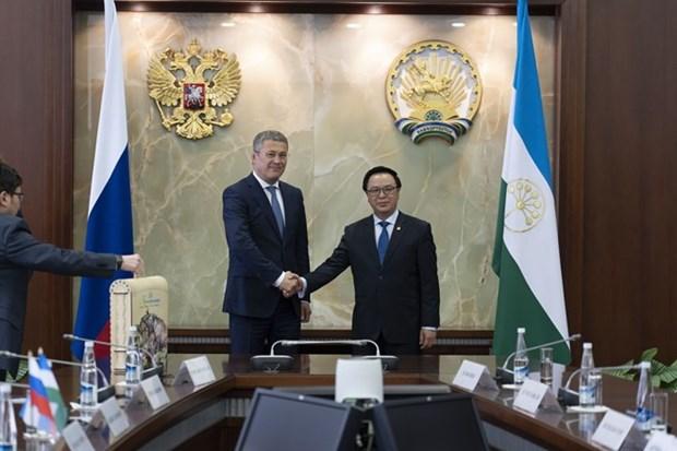 Baskortostan desea impulsar cooperacion multifacetica con Vietnam hinh anh 1