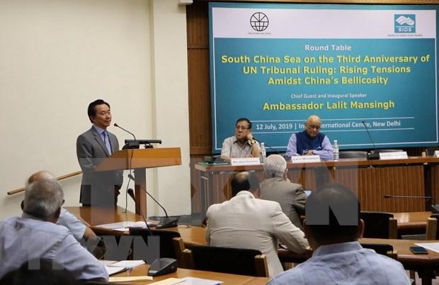 Seminario sobre Mar del Este en la India hinh anh 1