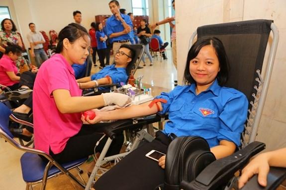 Provincias de Vietnam responden a campana de donacion de sangre hinh anh 1