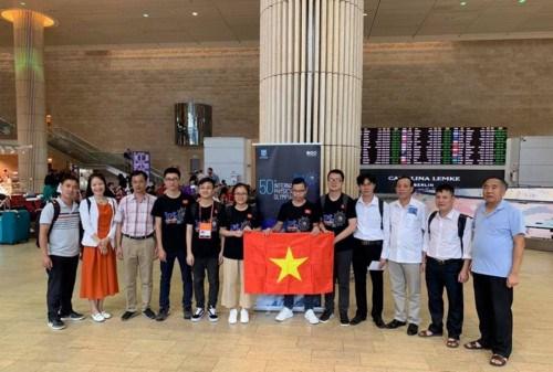 Vietnam cosecha medallas en Olimpiada Internacional de Fisica hinh anh 1