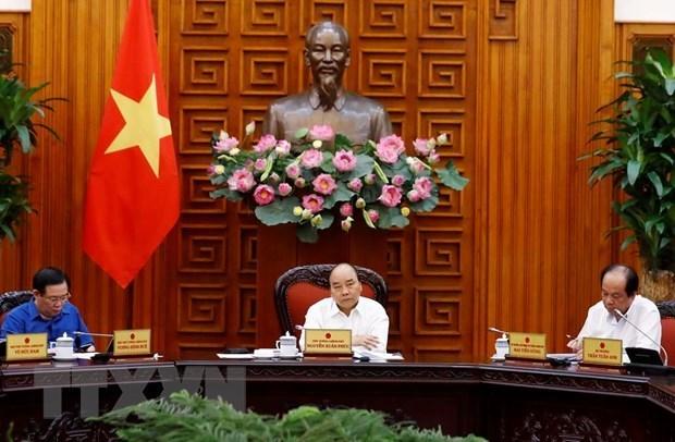 Primer ministro pide mas esfuerzos para impulsar lazos comerciales con socios clave hinh anh 1
