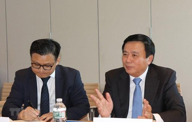 Vietnam y Estados Unidos intensifican su asociacion integral hinh anh 1