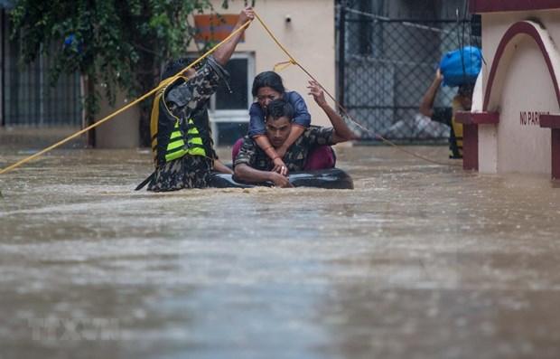 Salvan a turistas vietnamitas atascados por inundaciones en Nepal hinh anh 1