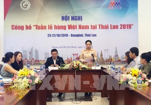 Organizaran en Tailandia Semana de Mercancias de Vietnam 2019 hinh anh 1