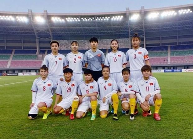 Ocupa seleccion femenina de futbol de Vietnam primera posicion en el Sudeste Asiatico hinh anh 1