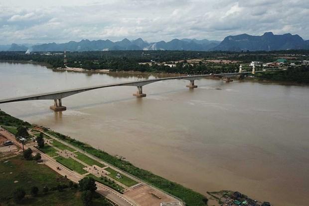 Reportan en Tailandia nivel mas bajo de las aguas del rio Mekong en 10 anos hinh anh 1