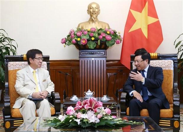 Destaca vicepremier de Vietnam relaciones con Japon hinh anh 1