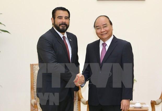 Recibe primer ministro de Vietnam al embajador de Panama saliente hinh anh 1