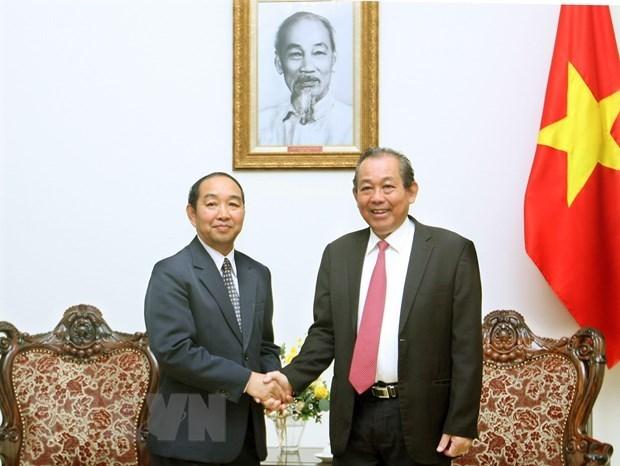 Instan a intensificar cooperacion entre Tribunales Populares de Vietnam y Laos hinh anh 1