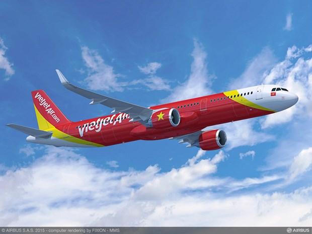 Sector aereo vietnamita mantiene ritmo de crecimiento hinh anh 1