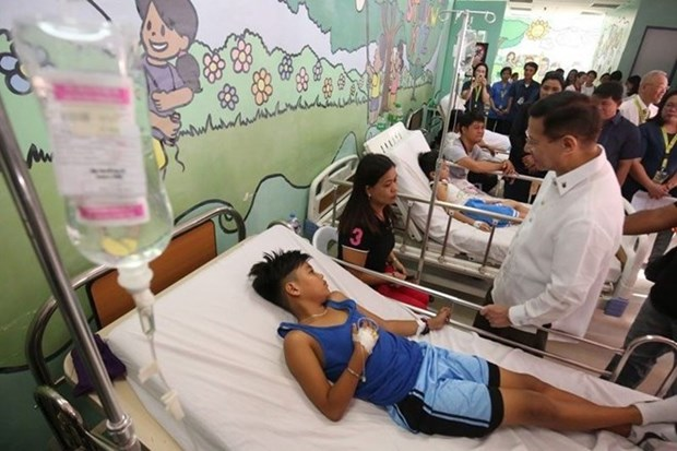 Declaran en Filipinas alerta nacional por brote de dengue hinh anh 1