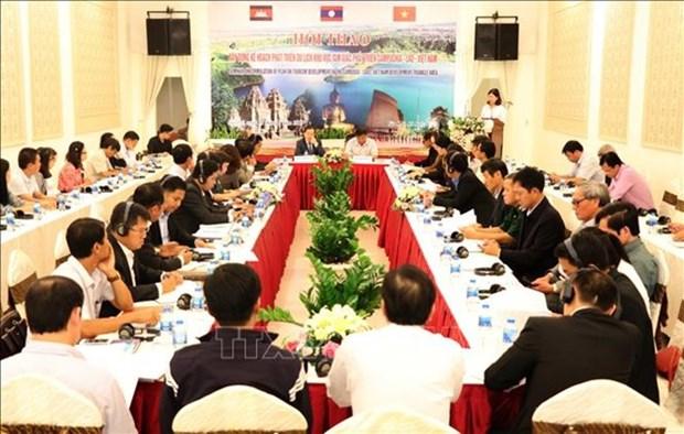 Promueven conectividad turistica en Area del Triangulo de Desarrollo Camboya-Laos-Vietnam hinh anh 1