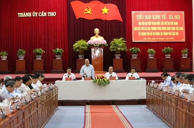 Premier vietnamita insta a provincias del Delta del Mekong a enfrentar cambio climatico hinh anh 1