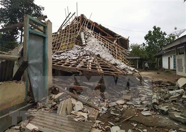 Afecta nuevo terremoto de magnitud 6,1 las costas de Indonesia hinh anh 1