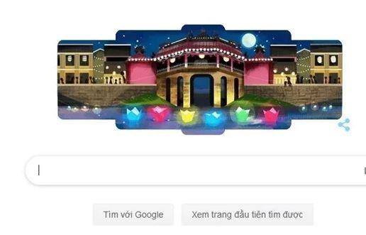 Destacan en logotipo de Google a ciudad vietnamita de Hoi An hinh anh 1