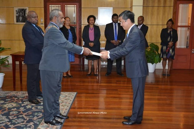 Prioriza Papua Nueva Guinea el fomento de sus nexos con Vietnam hinh anh 1