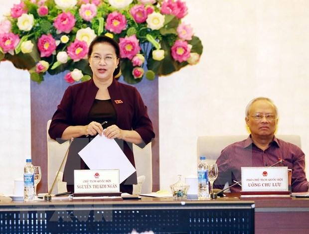Concluye sesion 35 del Comite Permanente del Parlamento de Vietnam hinh anh 1