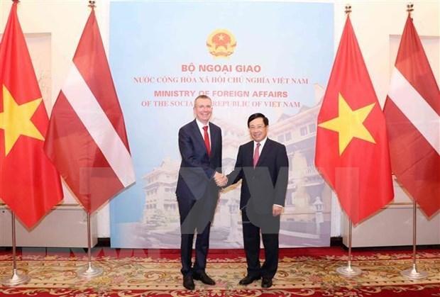 Vietnam y Letonia robustecen sus lazos hinh anh 1