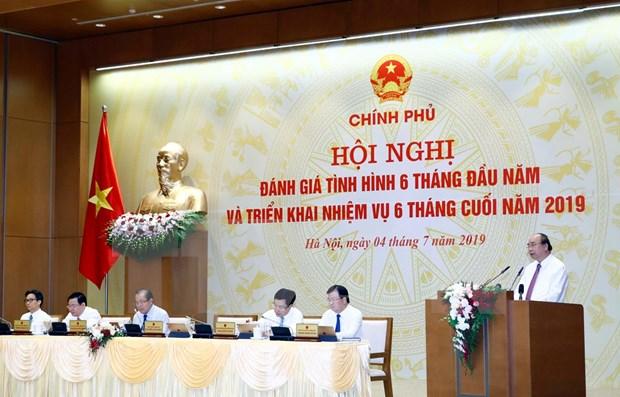Insta Gobierno vietnamita al cumplimiento de las metas socioeconomicas para 2019 hinh anh 1