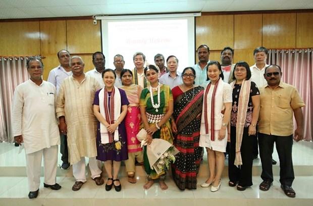Promueven intercambios amistosos entre Vietnam y India hinh anh 1